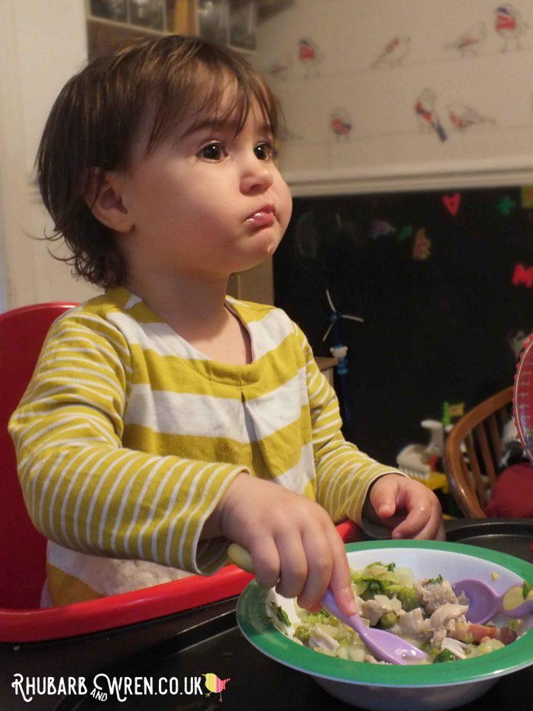 The kids love Nigella's spring chicken!