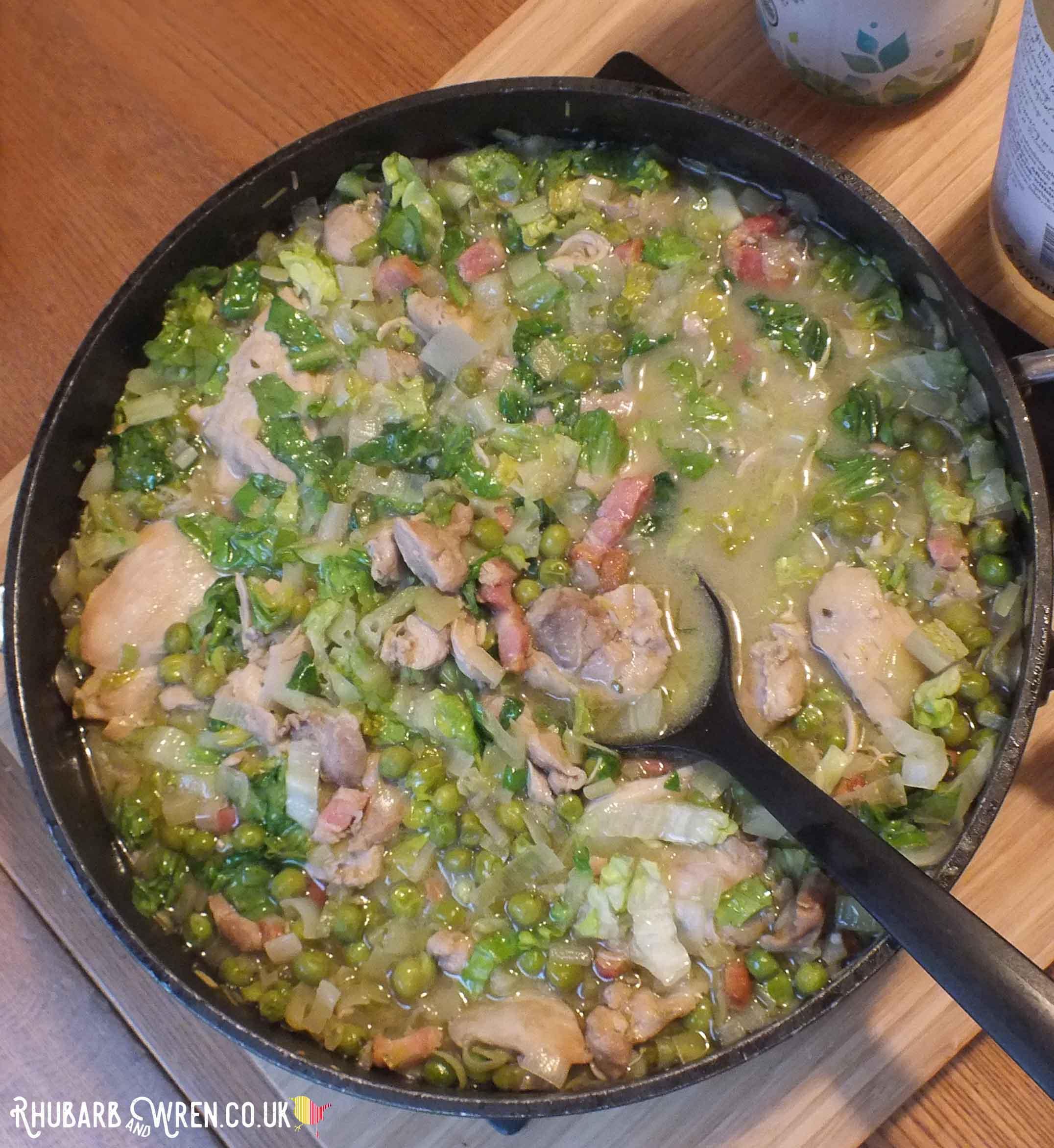 Nigella's spring chicken recipe - a family favourite