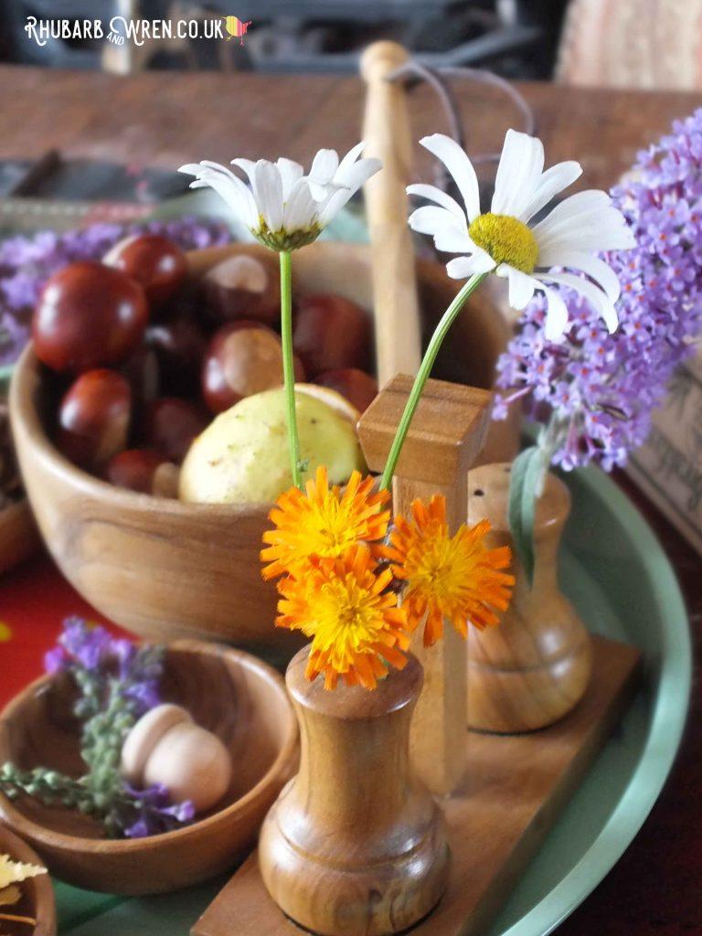 Daisy in a vase