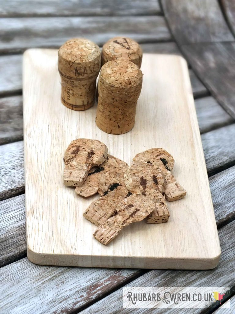 DIY play mushroom - from a wine cork!