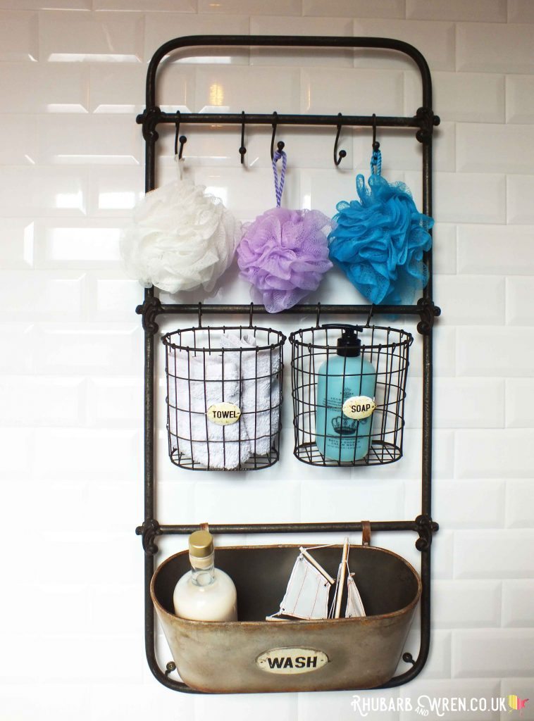 Cox and Cox bathroom storage rack