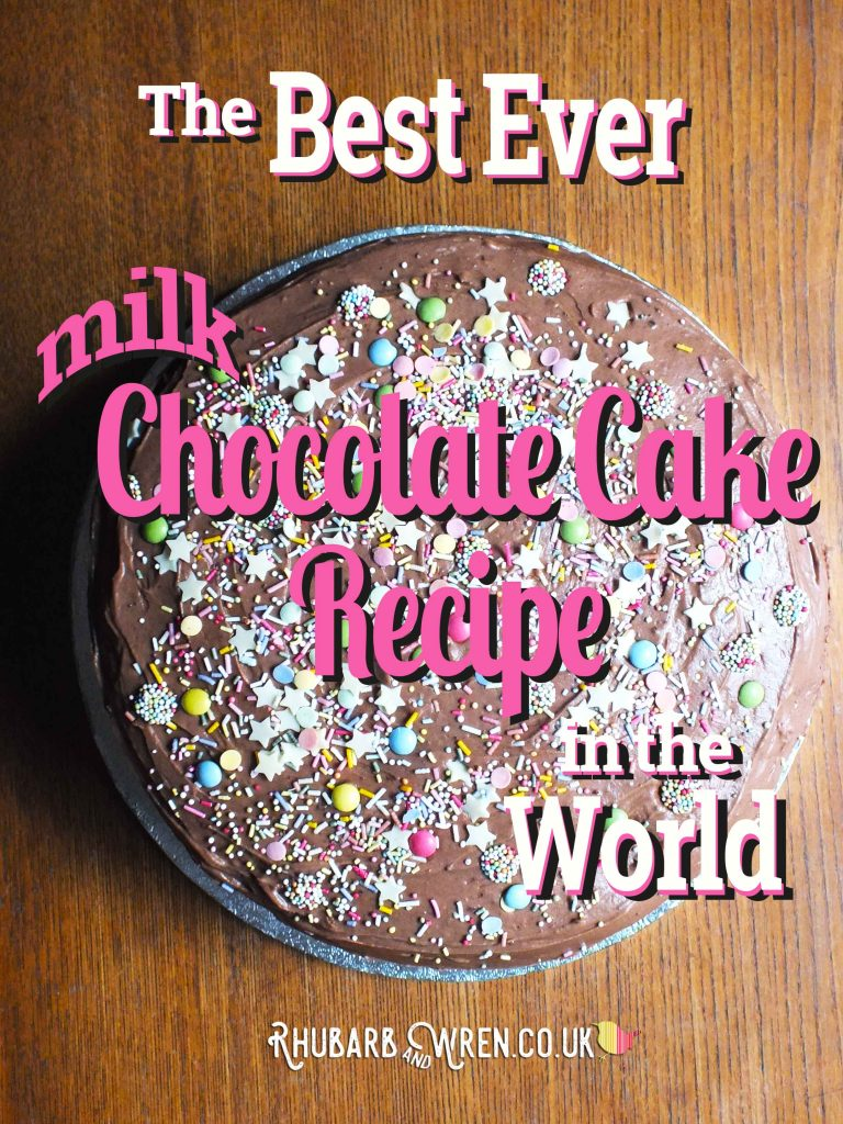 The best ever milk chocolate cake recipe in the world