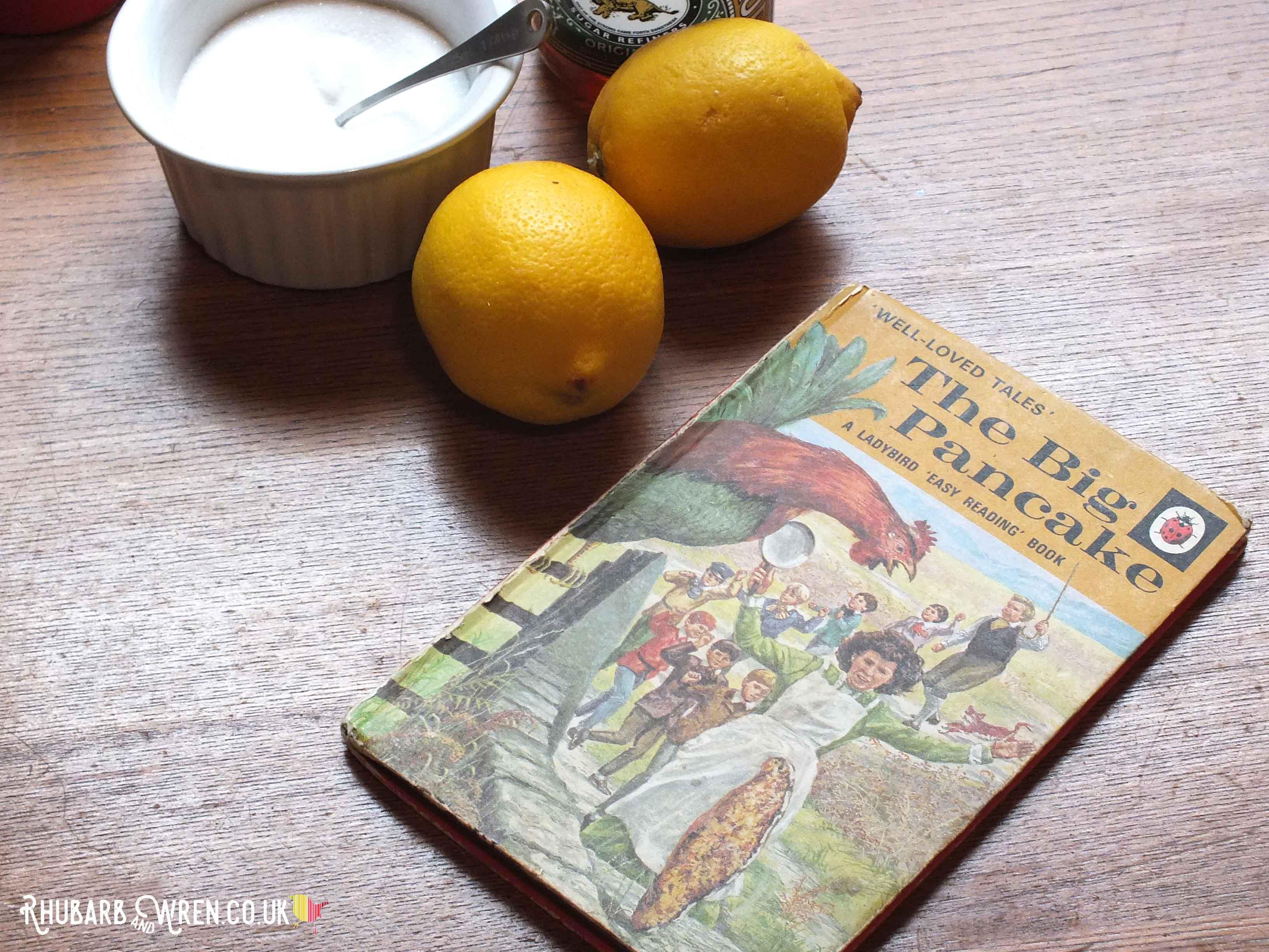 Ladybird Books classic - the Big Pancake