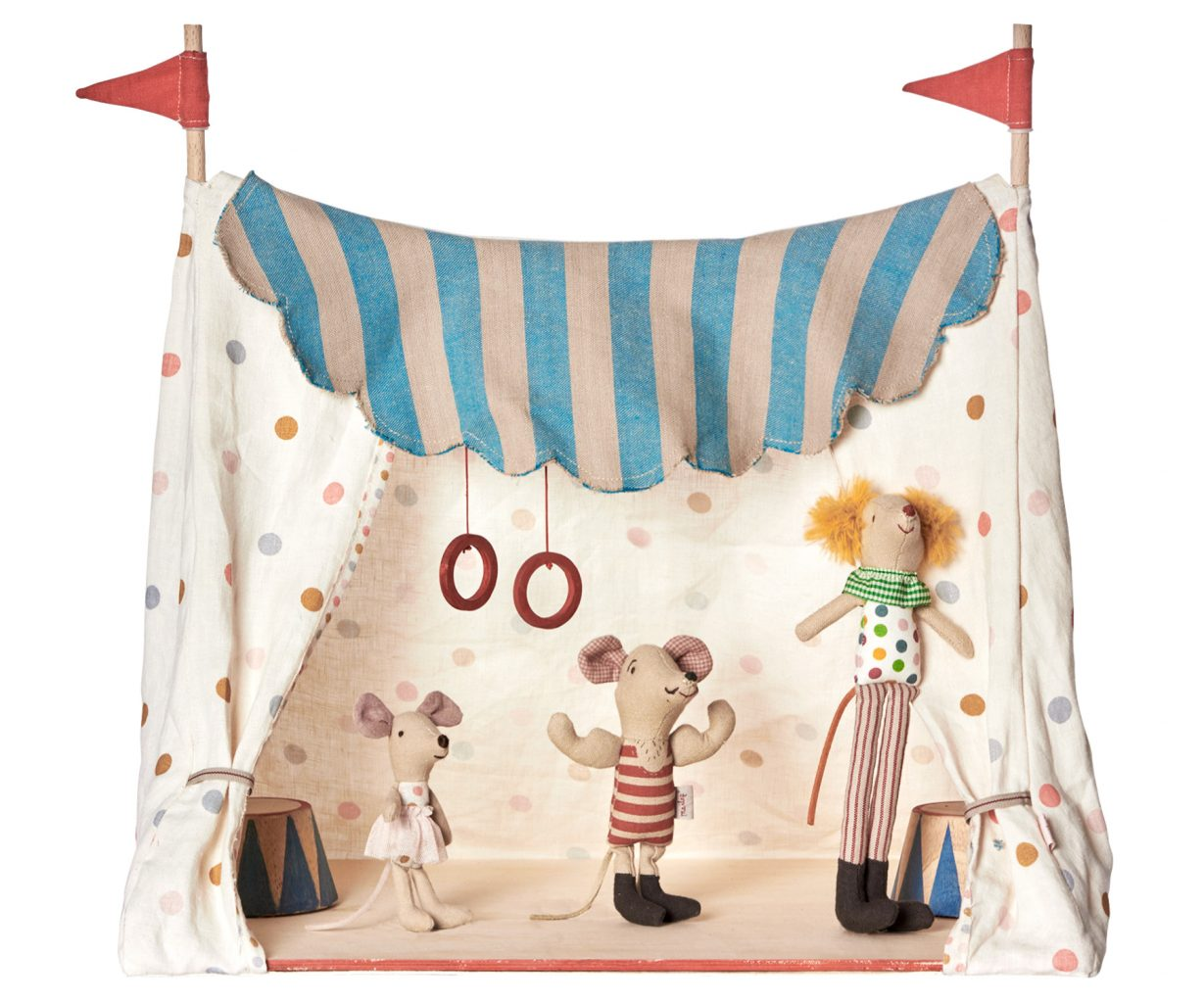 Maileg mouse circus tent