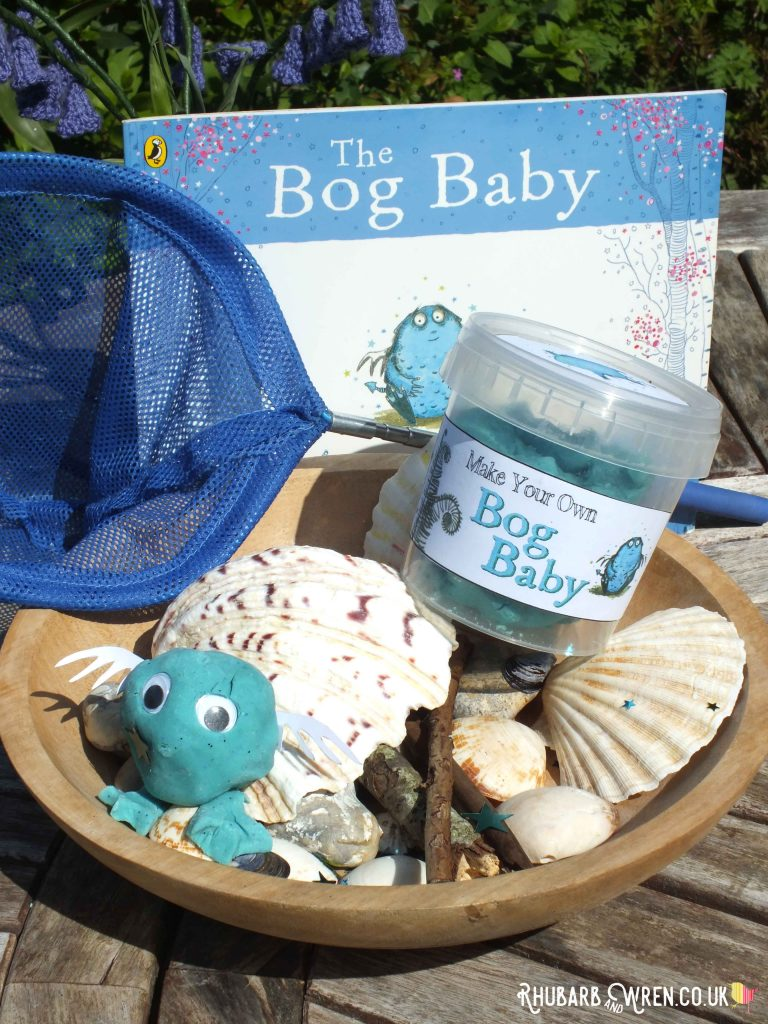 home-made play dough bog baby