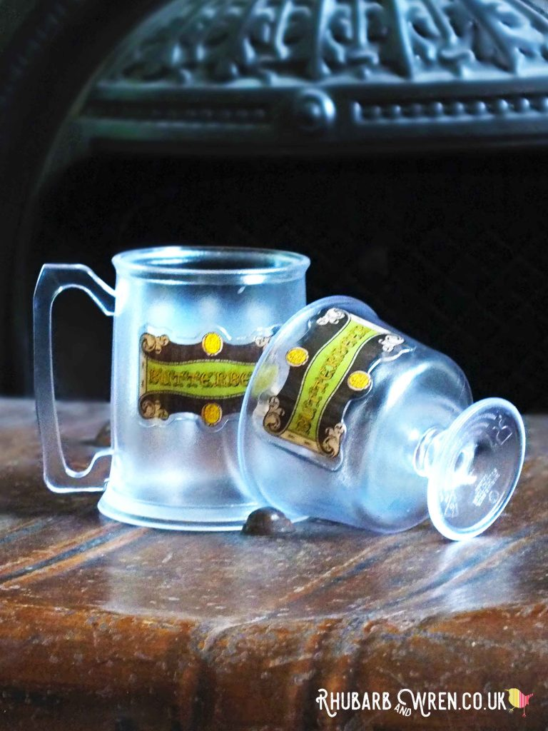souvenir Butterbeer stein and sundae dish from the Making of Harry Potter Studio Tour, UK