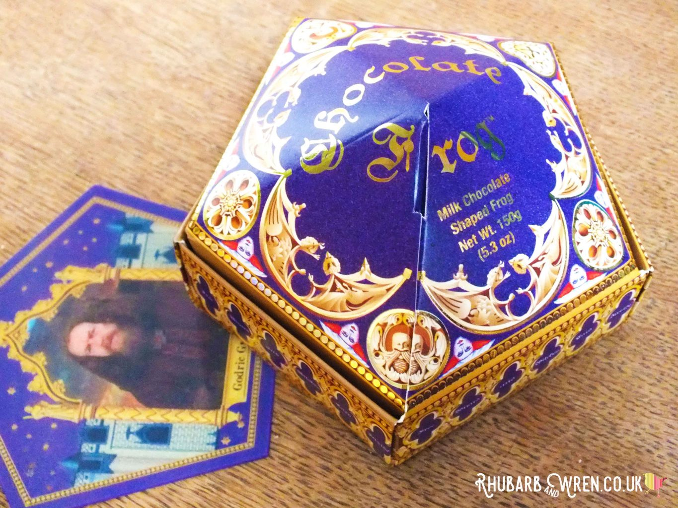 Chocolate Frog box for a Harry Potter party bag