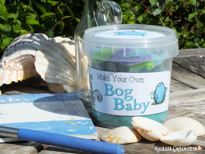home-made play dough bog baby kit