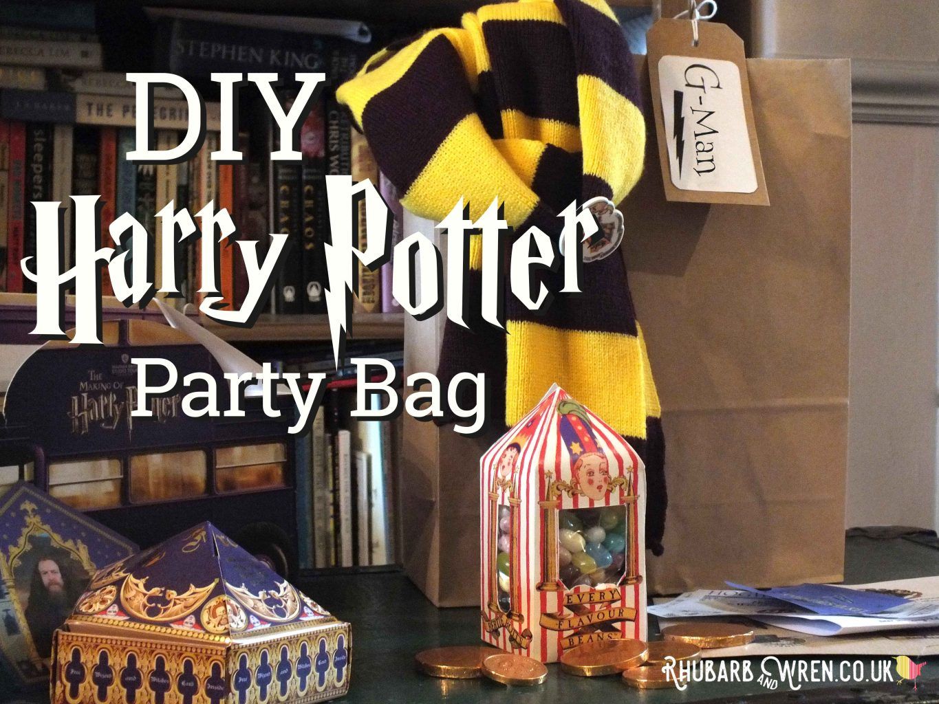 DIY Harry Potter party bag