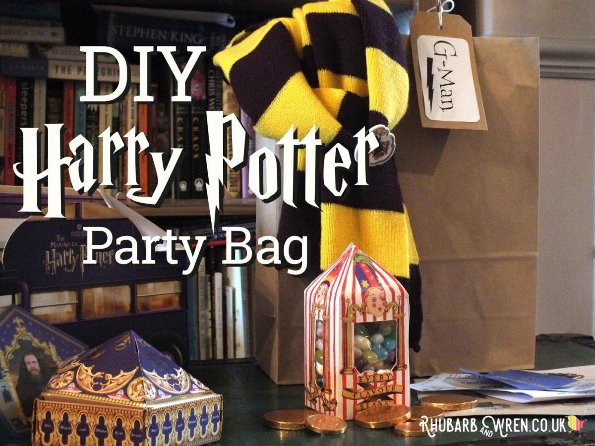 DIY Harry Potter party bag