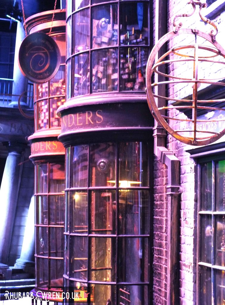 Diagon Alley at the Harry Potter studio tour