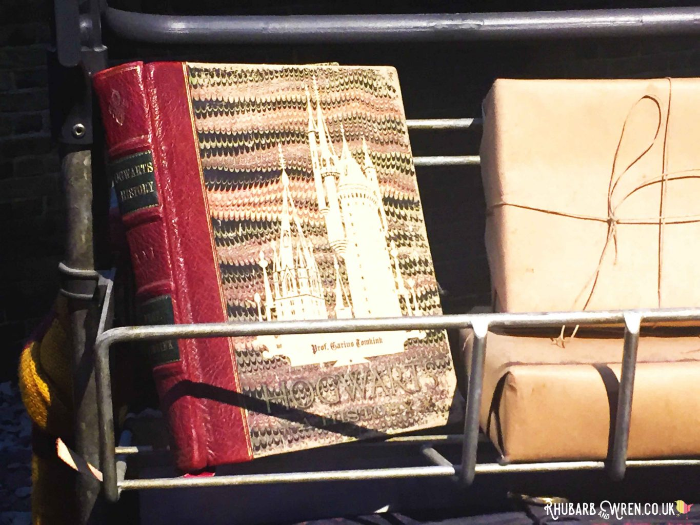 Guess the Luggage game at the Harry Potter studio tour