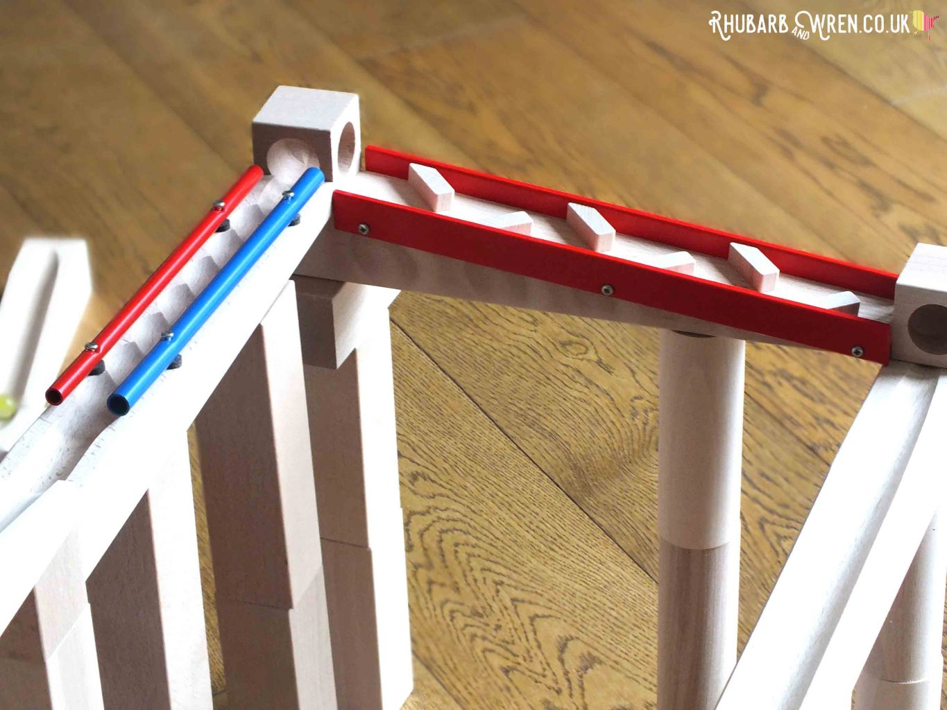 Sound sections in HABA wooden marble run