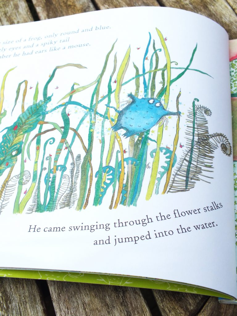 Page from 'The Bog Baby' by Jeanne Willis and Gwen Millward