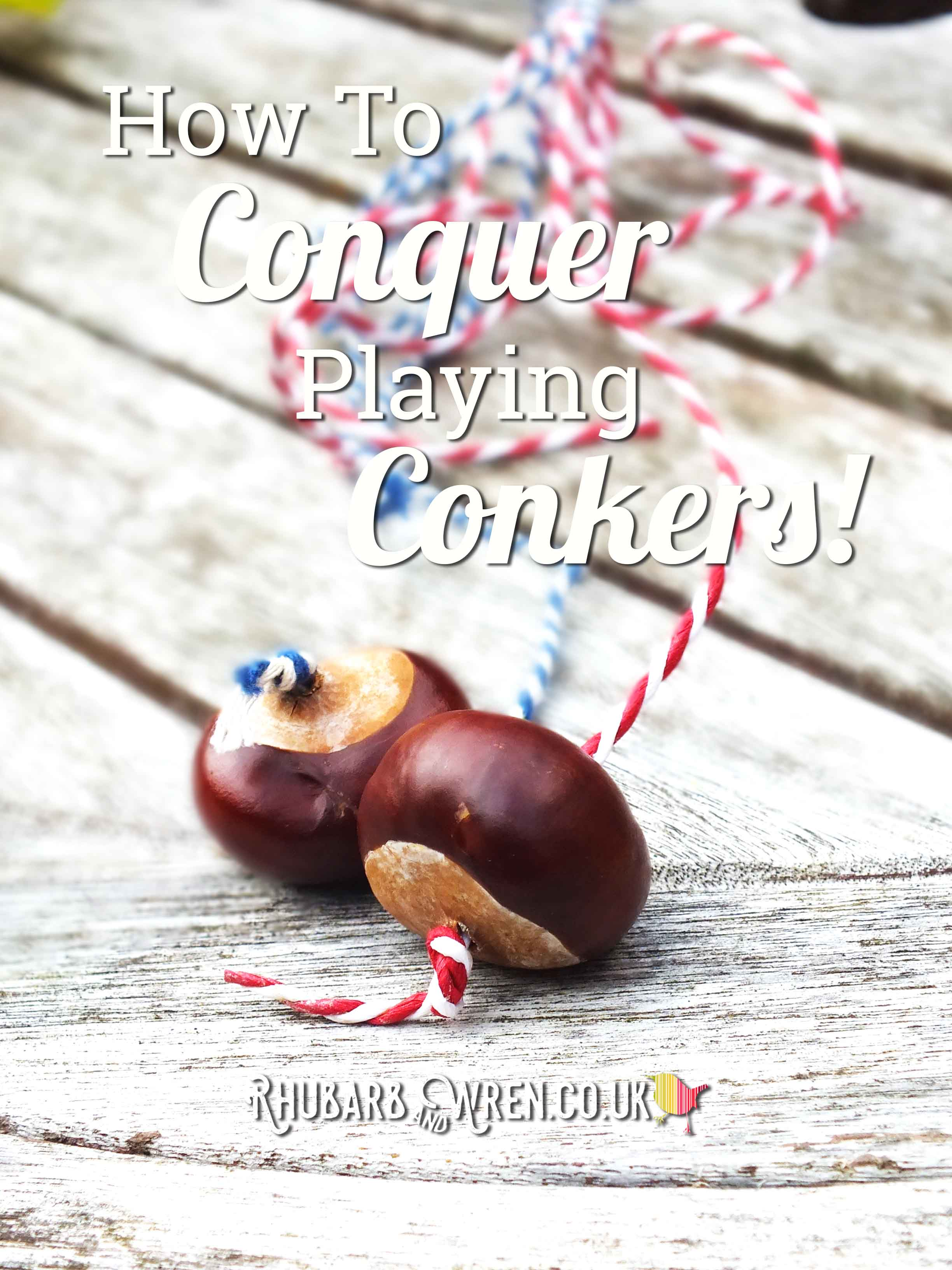 How to conquer playing conkers