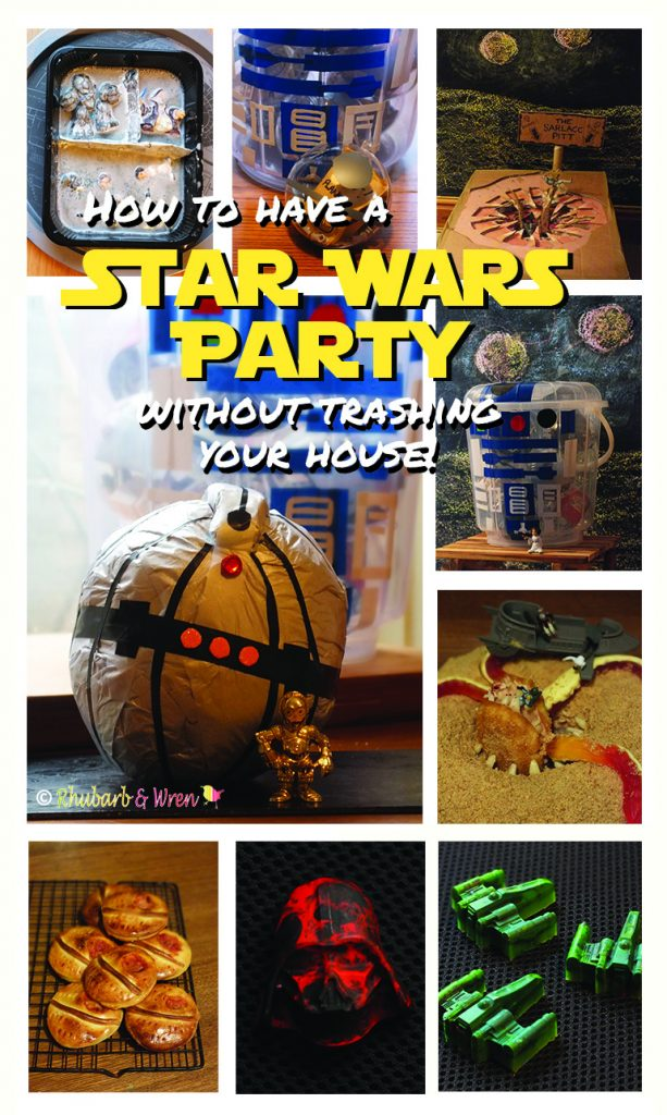 ideas for a star wars party for kids