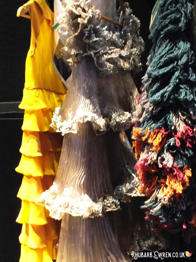 Rack of dresses at the Harry Potter studio tour