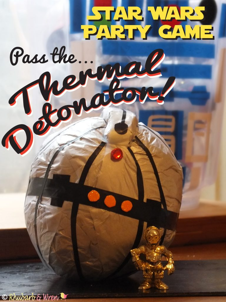 star wars party game - pass the thermal detonator