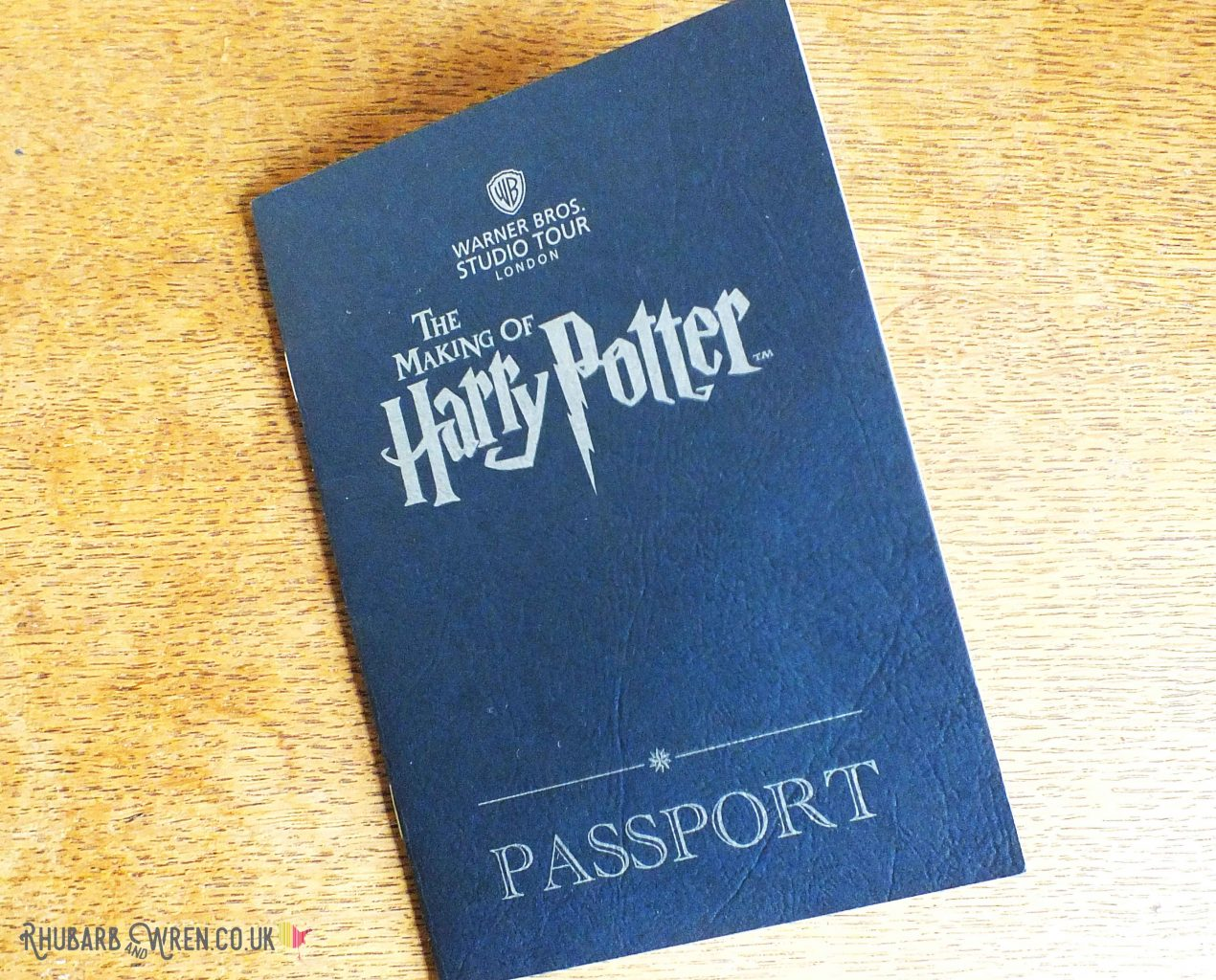 Free kids passport from the Harry Potter studio tour