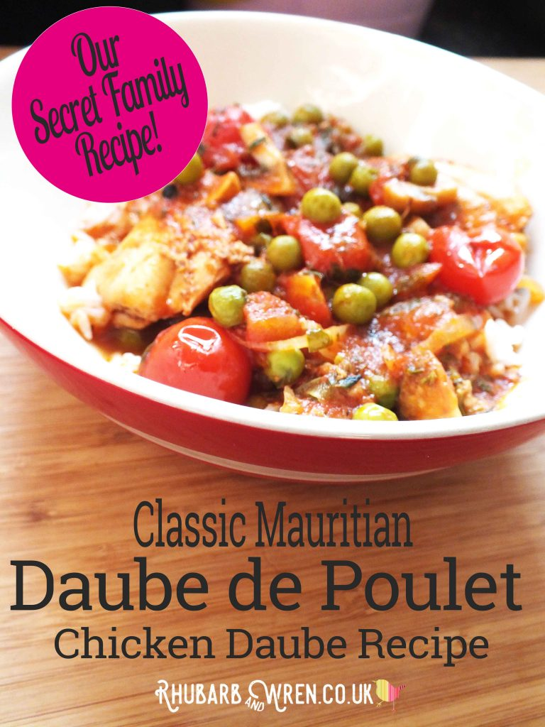 Recipe for Mauritian chicken daube