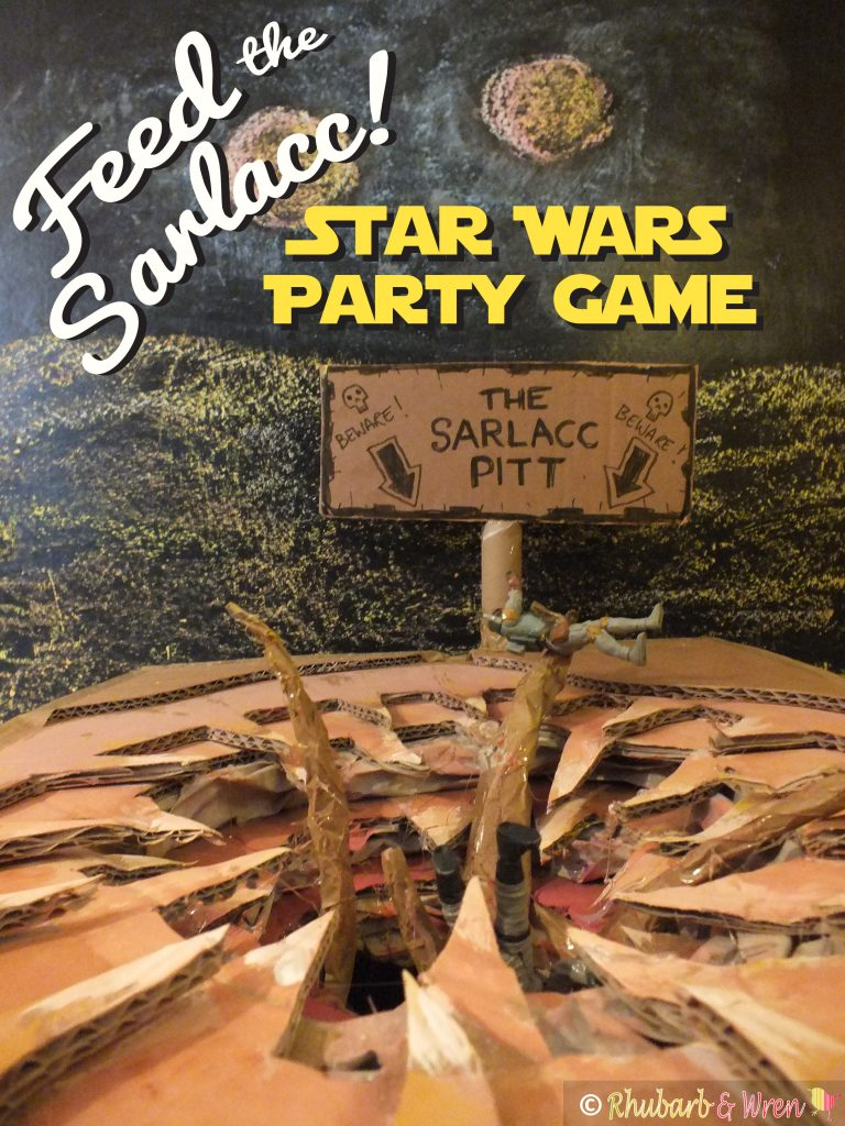 Feed The Sarlacc star wars party game