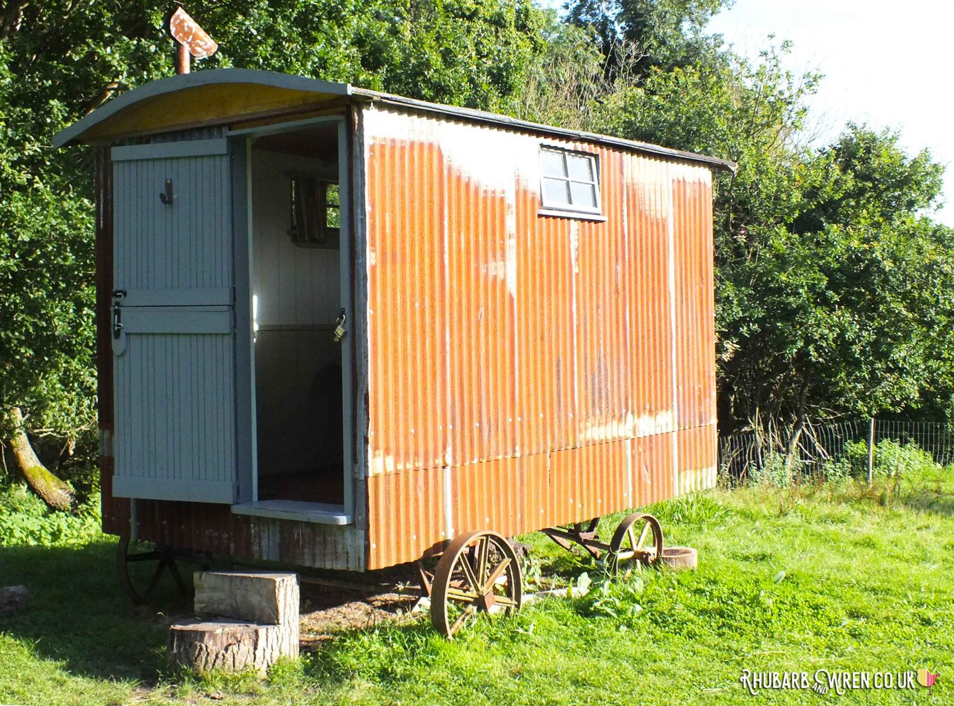 Shepherds' Hut at Farrs Meadow, Dorset
