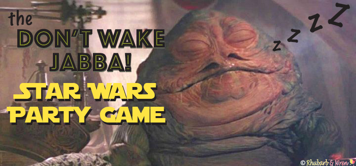 Don't Wake Jabba! star wars party game