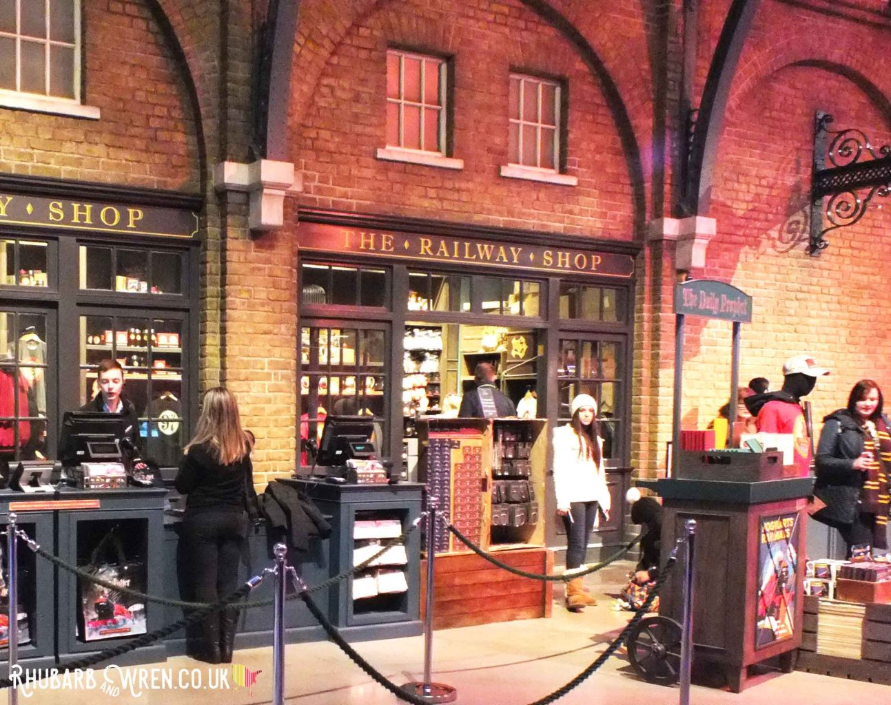 The Railway Shop at the Harry Potter studio tour