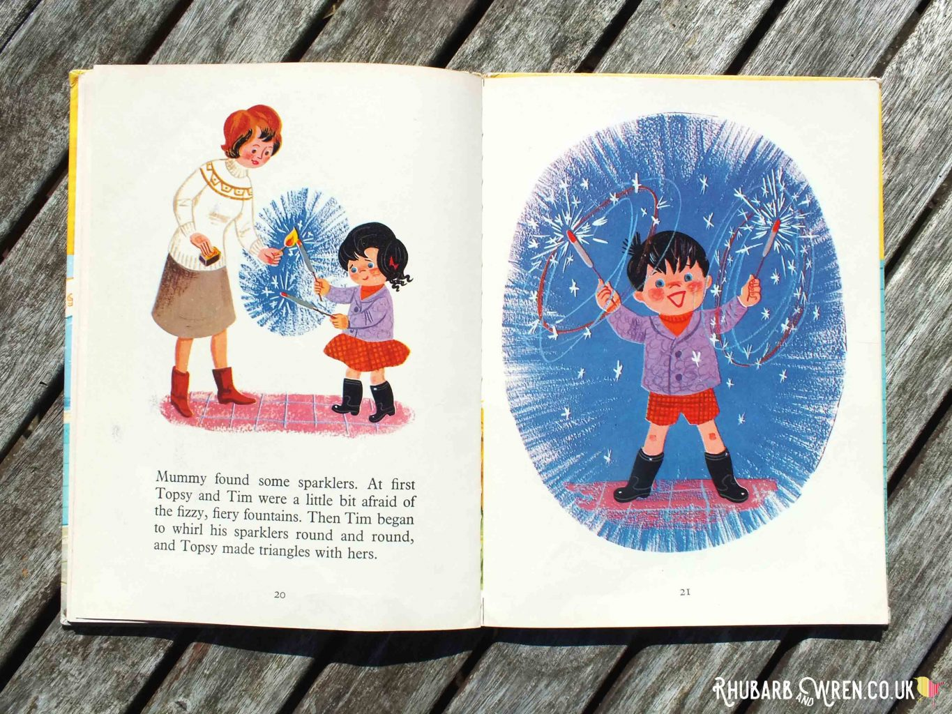 Pages from Topsy and Tim's Bonfire Night