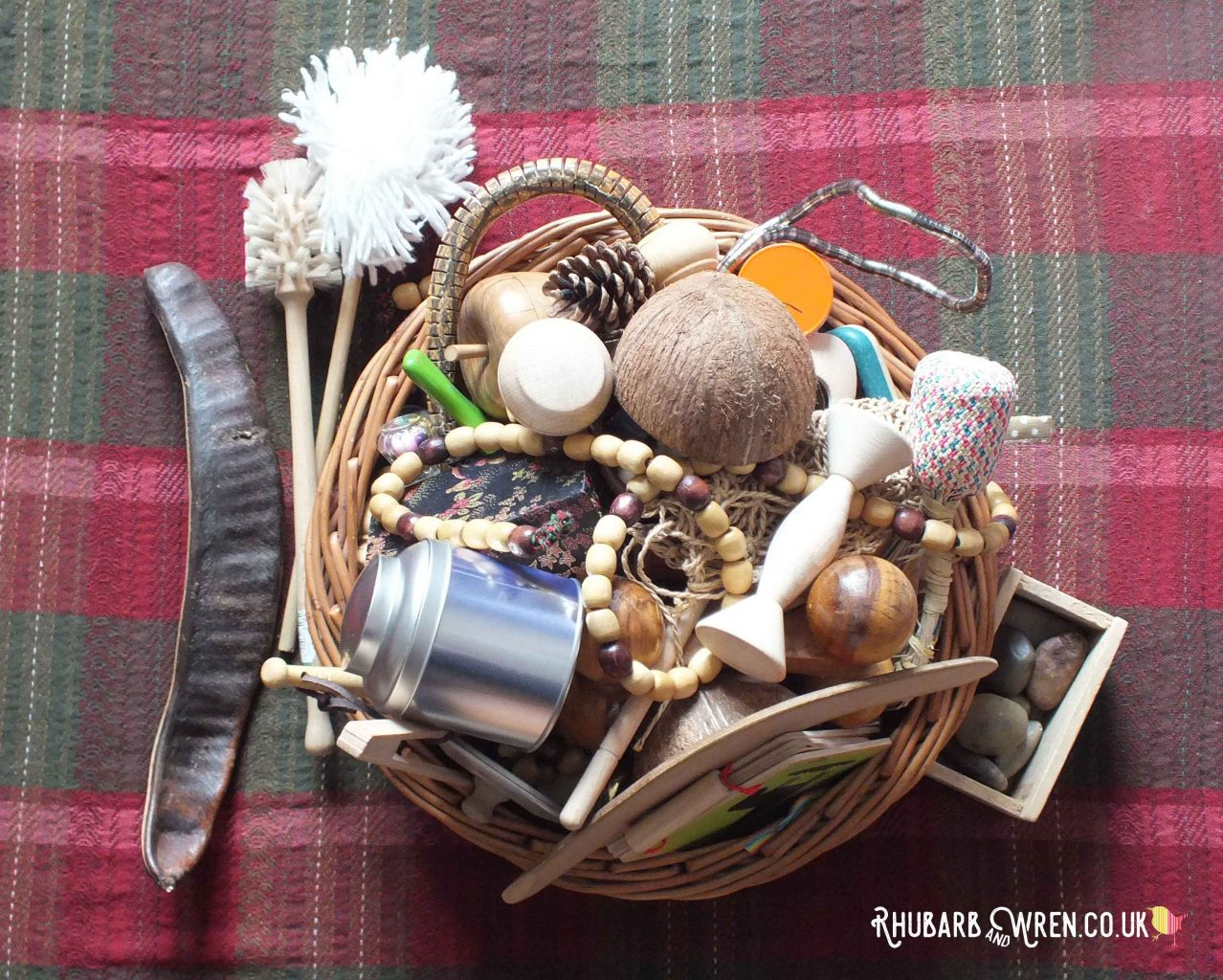 A treasure basket for babies