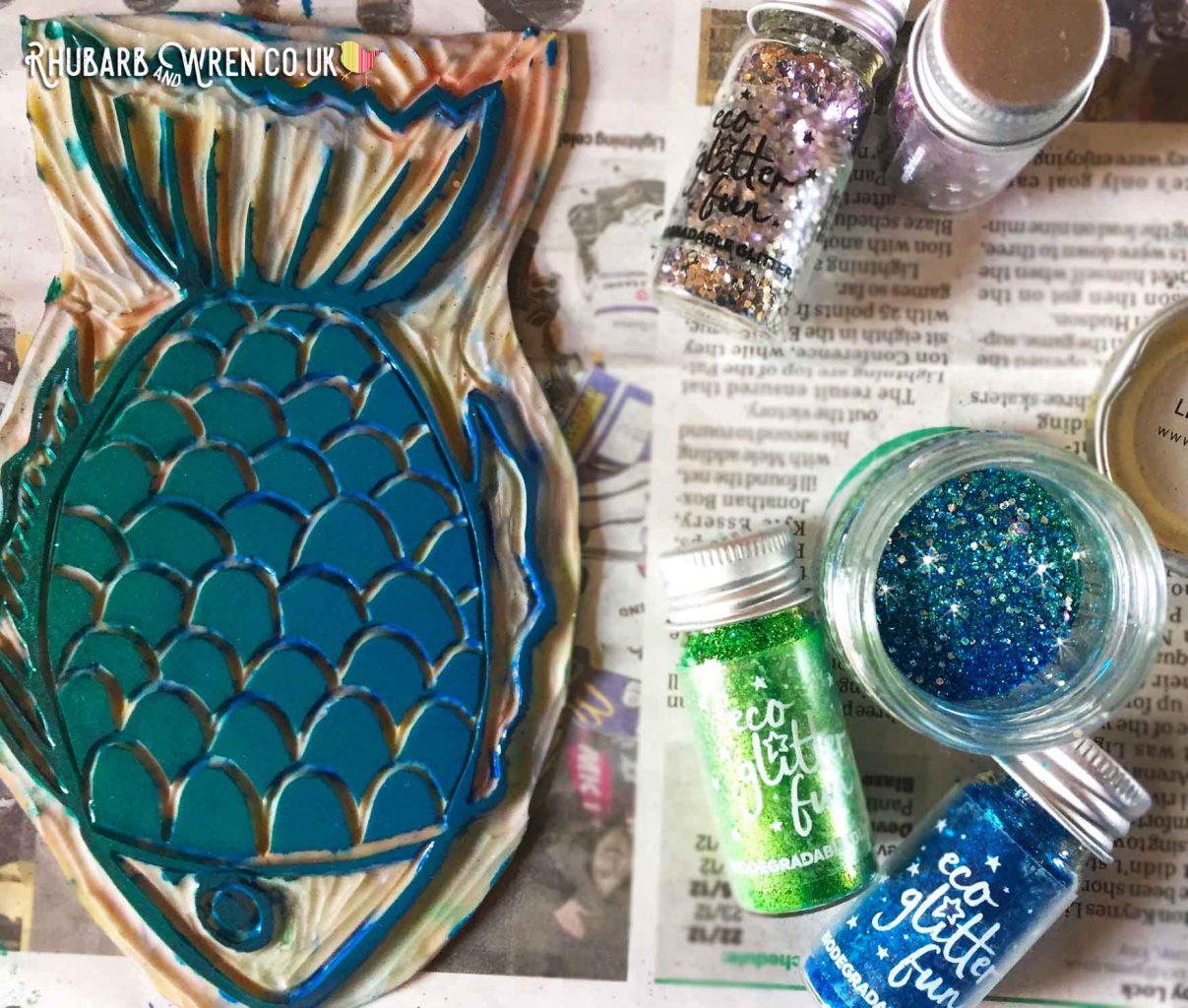 eco glitter from UK company Eco Glitter Fun.