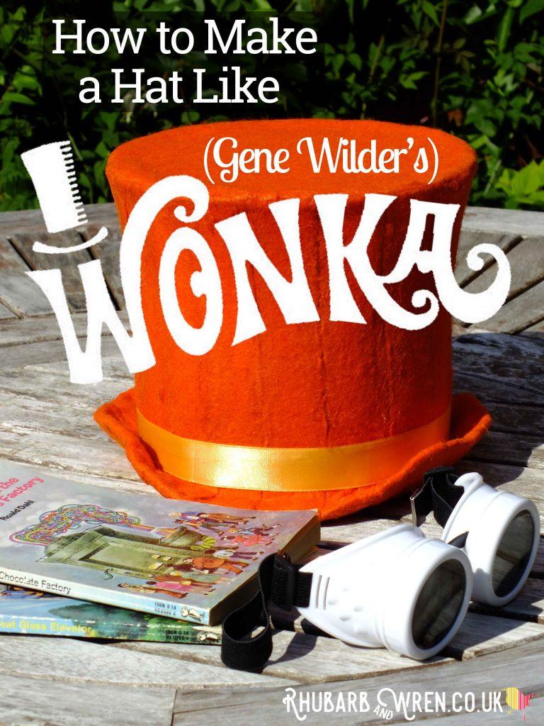 Instructions for a DIY Wonka hat like Gene Wilder's