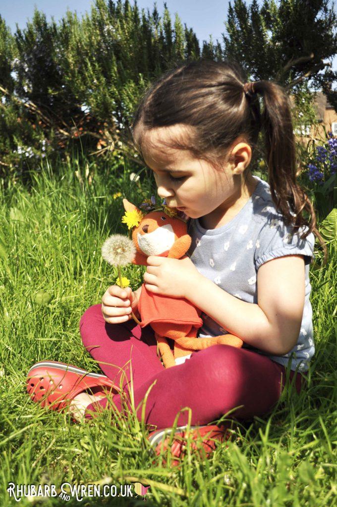 Hazel Village soft toy, Flora Fox