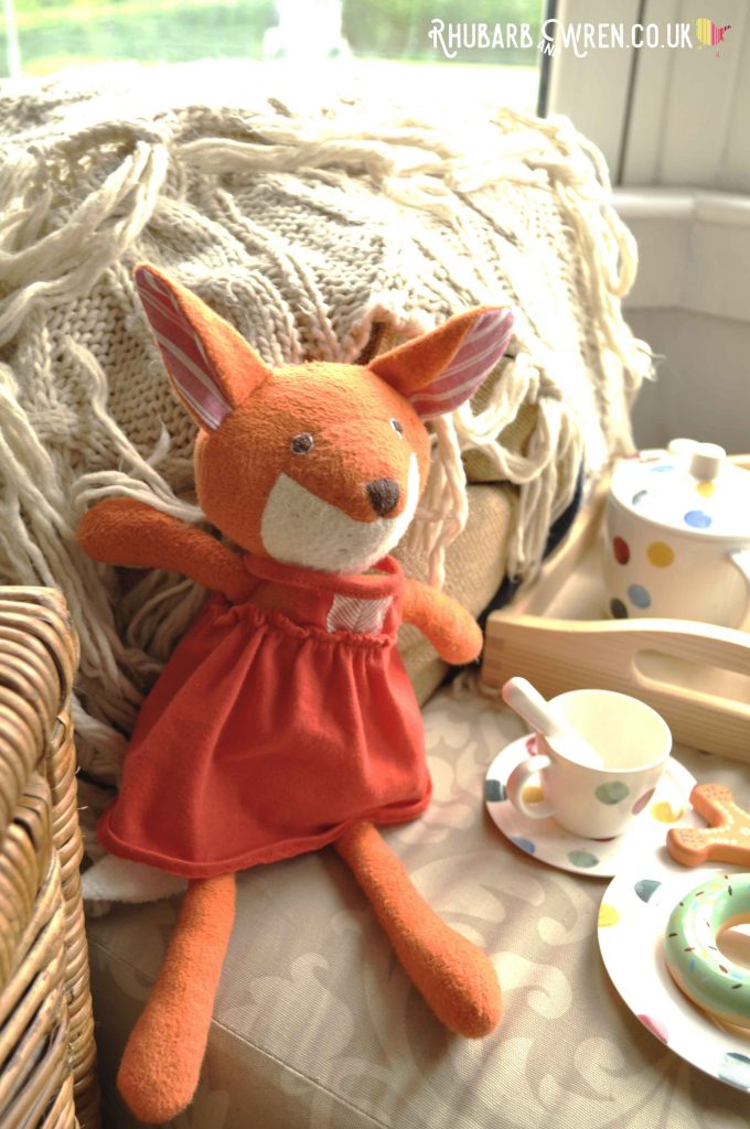 Hazel Village soft toy, Flora Fox