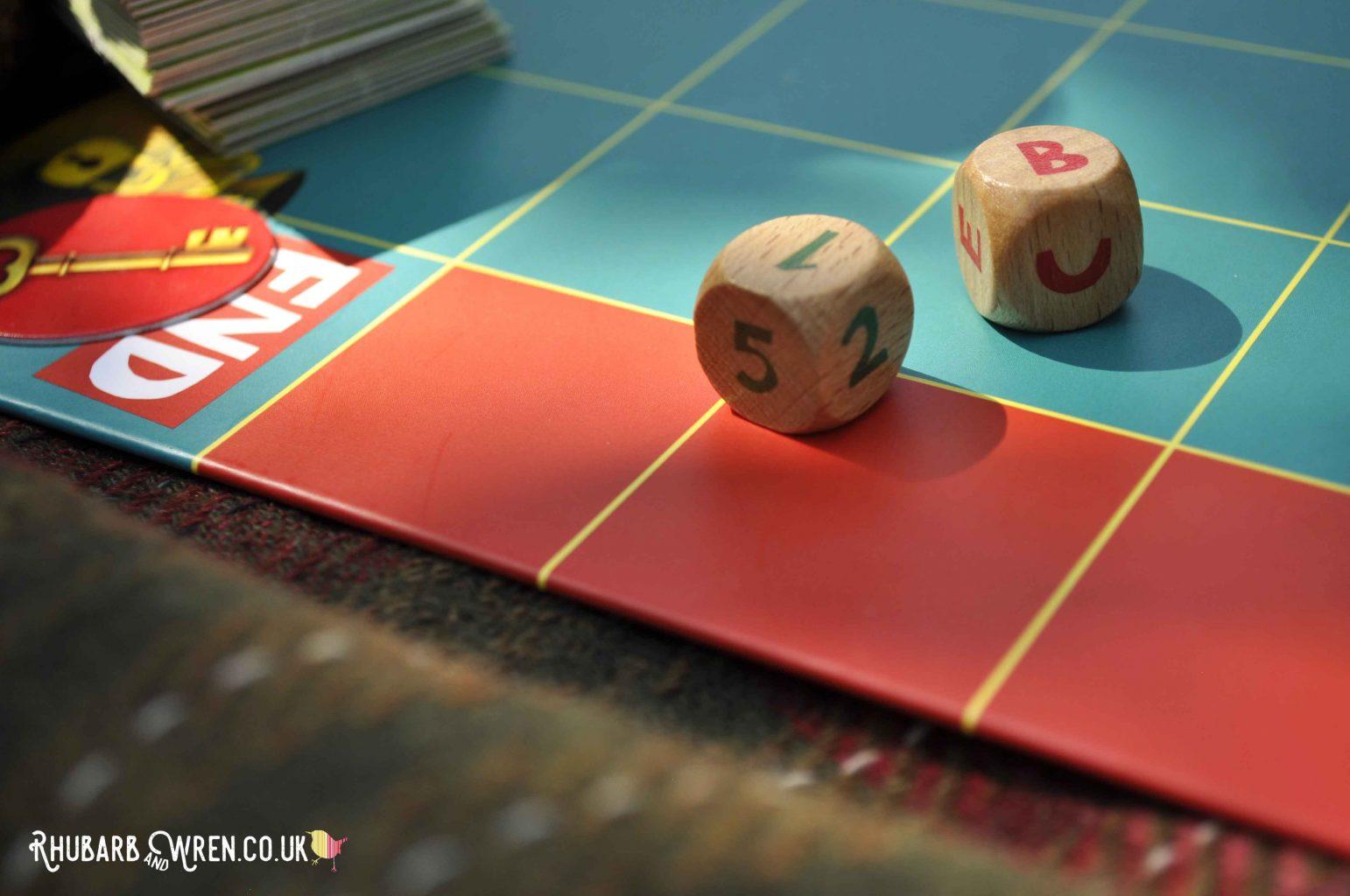 Peaceable Kingdom board game dice