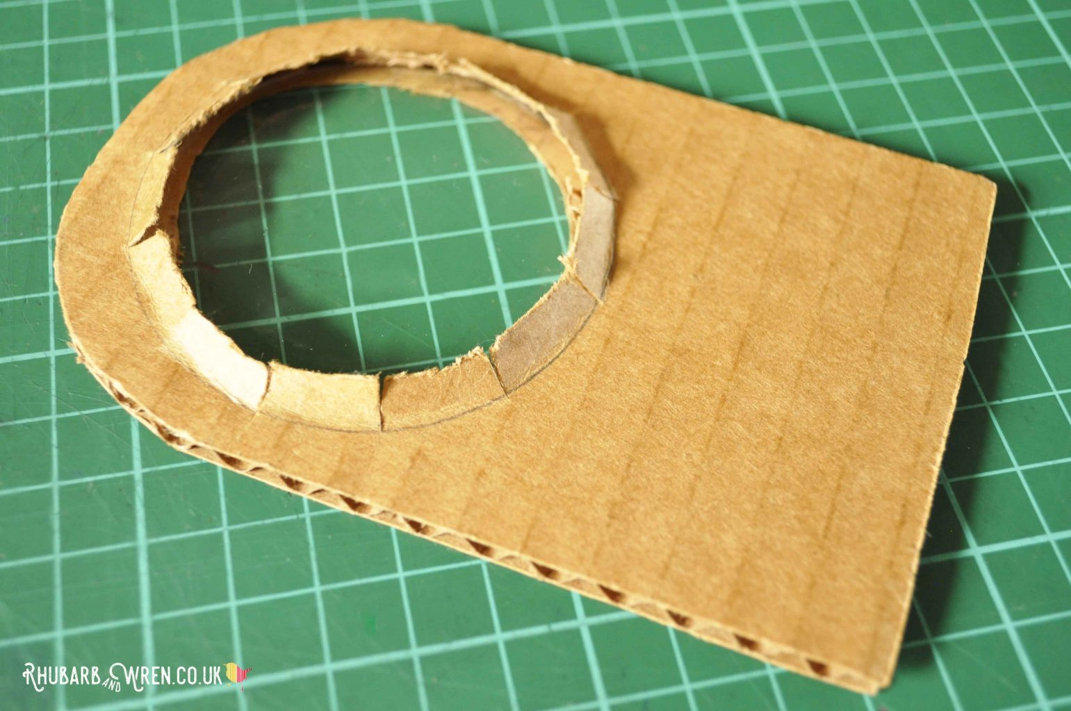 A diy real magnifying glass in progress