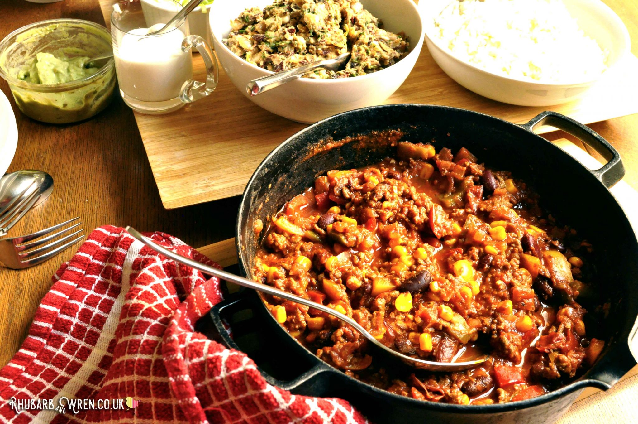 beef or vegan chilli recipe