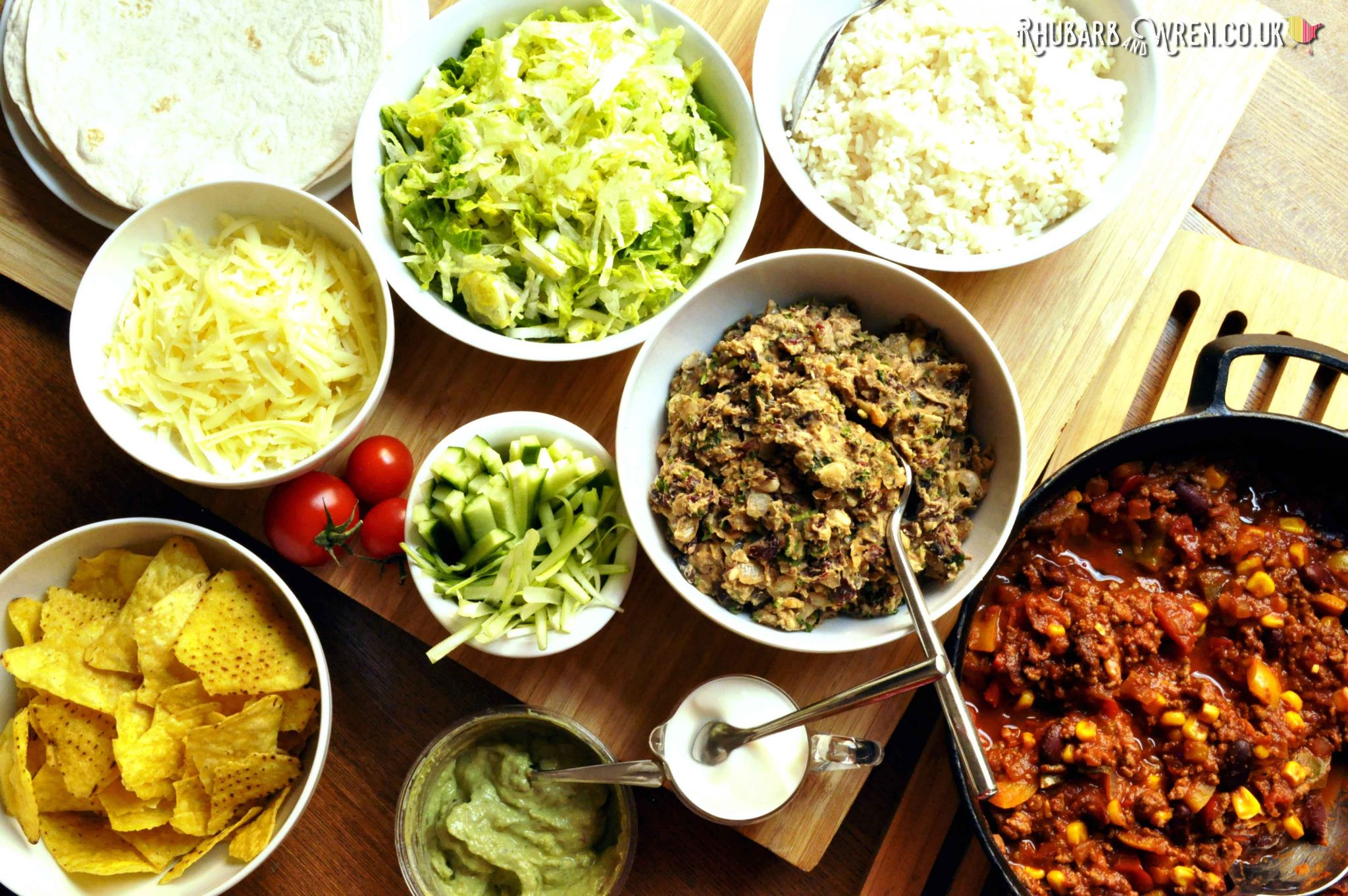 side dishes and toppings for chilli recipe