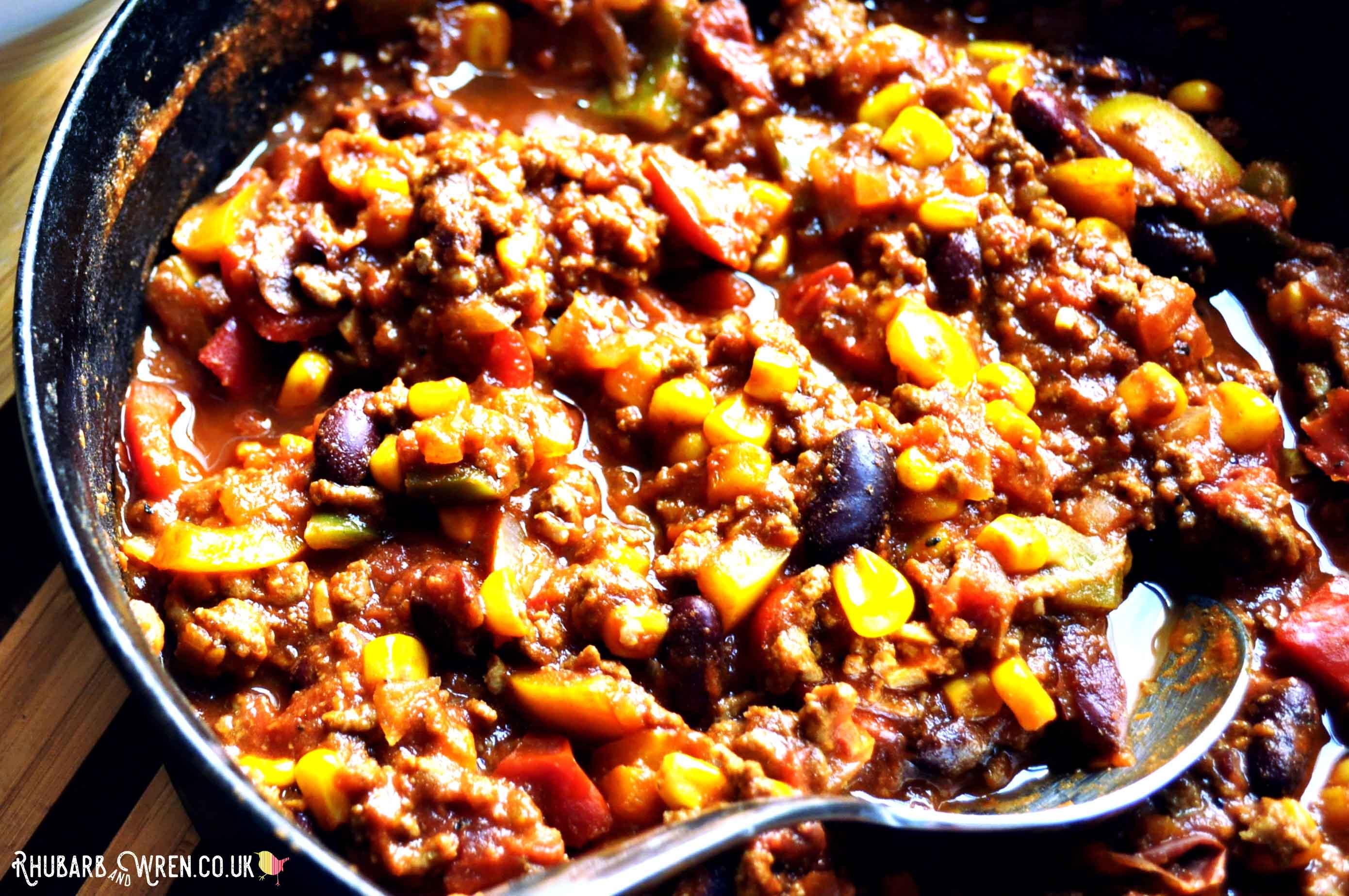 Family friendly vegan chilli recipe that kids love.