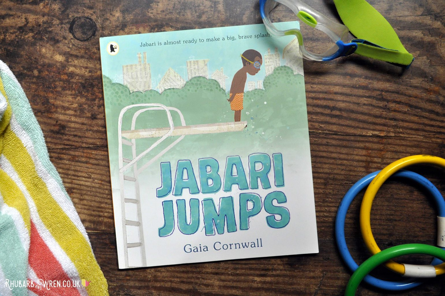 Children's picture book Jabari Jumps by Gaia Cornwall