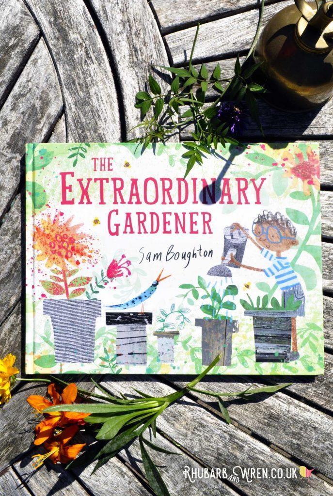 Children's Picture book 'The Extraordinary Gardener' by Sam Boughton