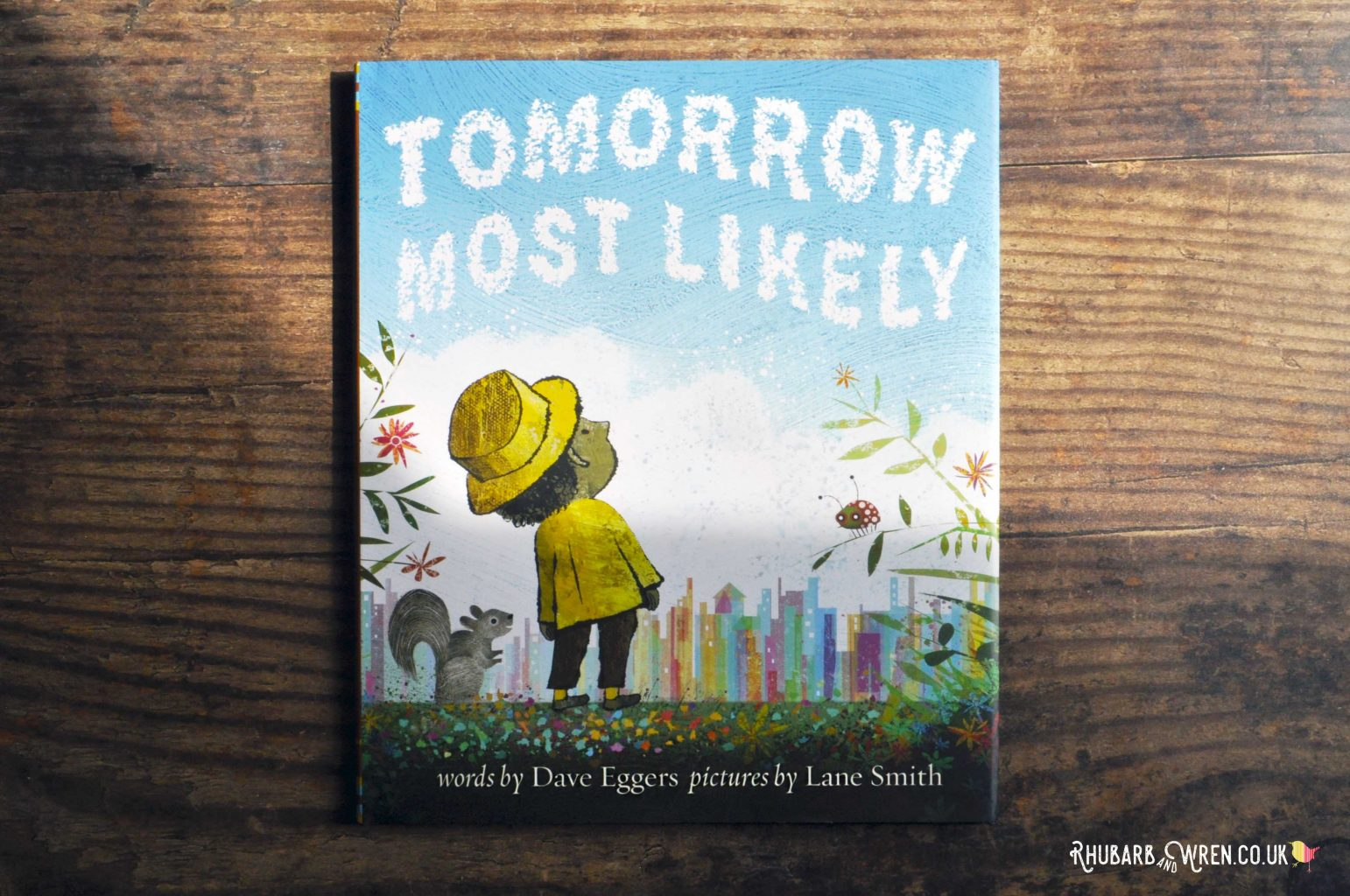 Children's picture book 'Tomorrow Most Likely' by Dave Eggers and Lane Smith.