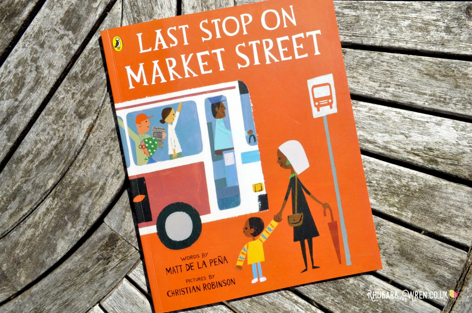 Last Stop on Market Street - picture book by Matt de la Pena and Christian Robinson