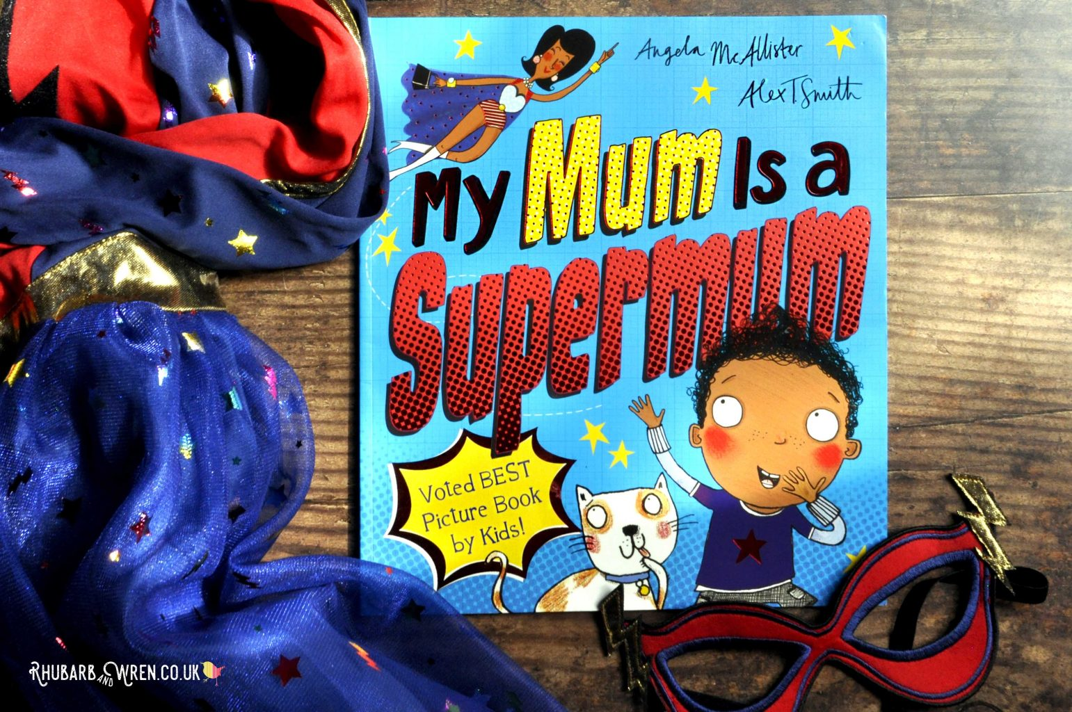 Children's picture book 'My Mum is a Supermum'