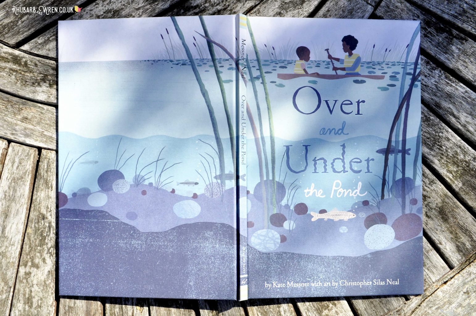 Children's picture book Over and Under the Pond