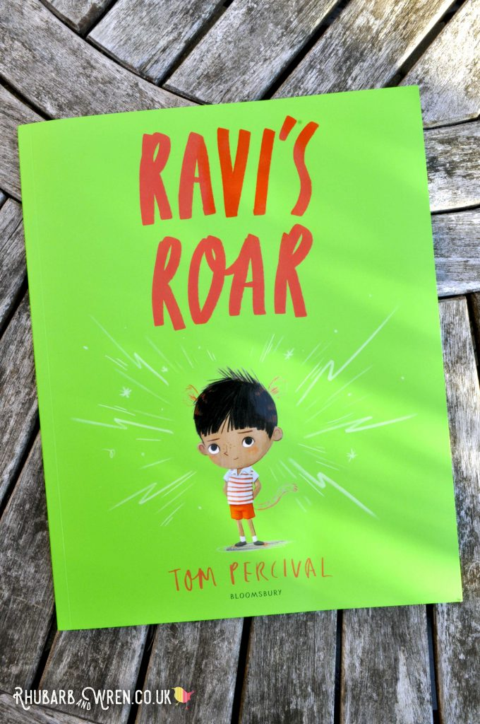 Children's picture book 'Ravi's Roar' by Tom Percival