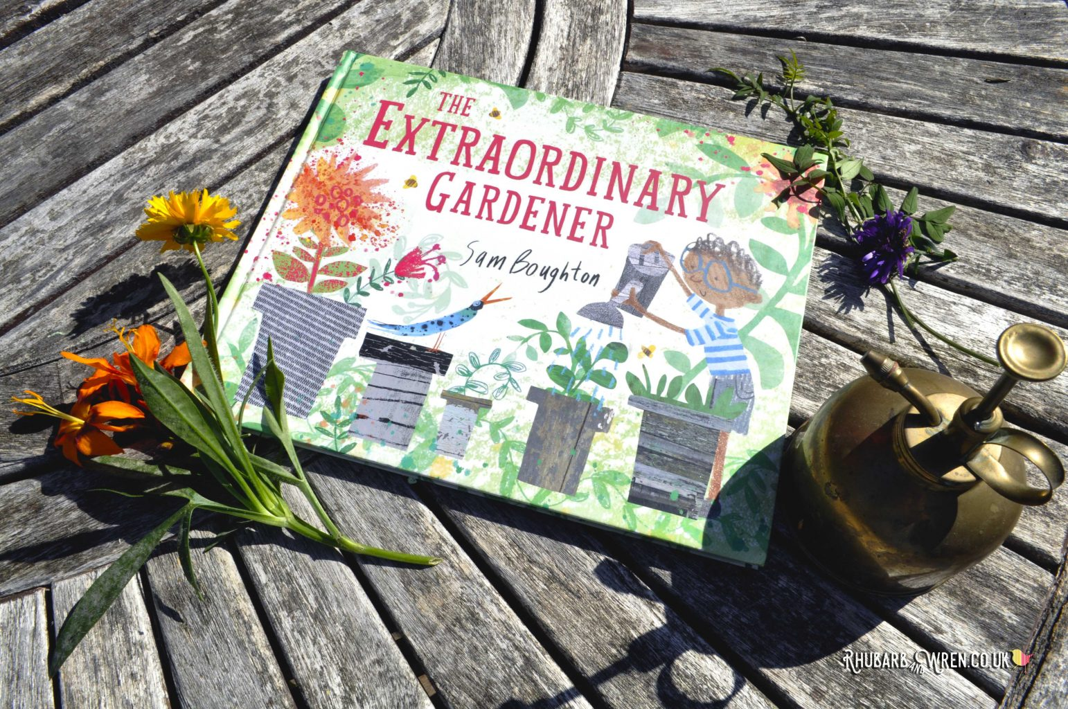 Children's picture book The Extraordinary Gardener by Sam Boughton
