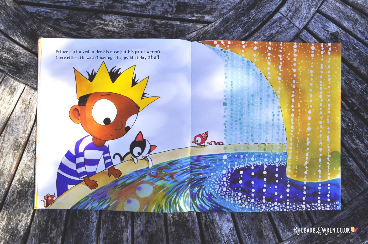 The Prince of Pants picture book