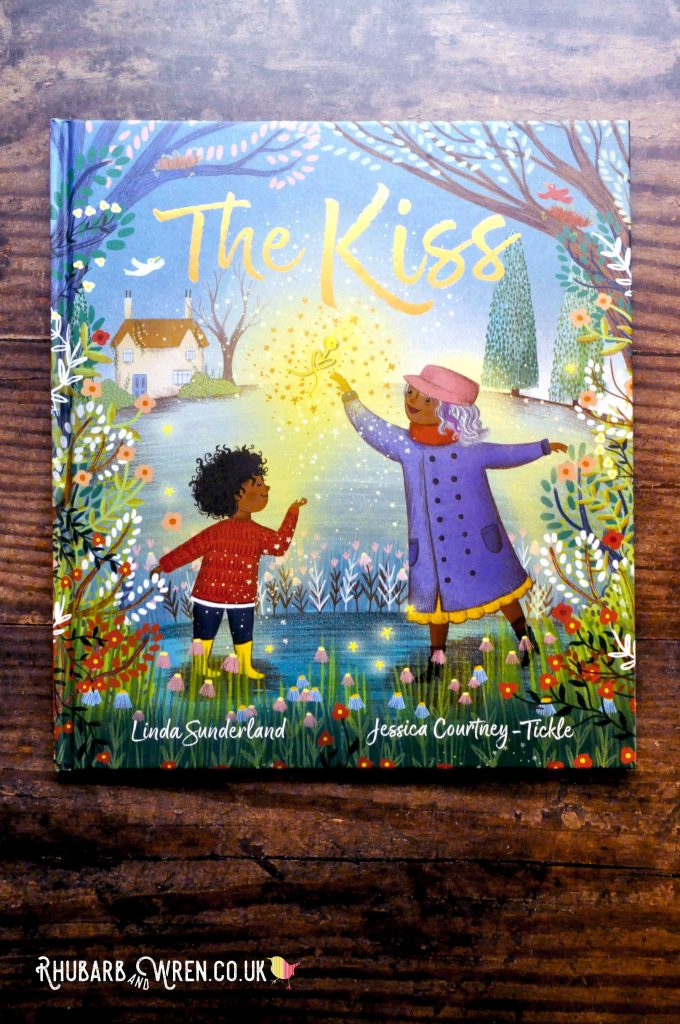 Children's picture book 'The Kiss' by Linda Sunderland and Jessica Courtney-Tickle