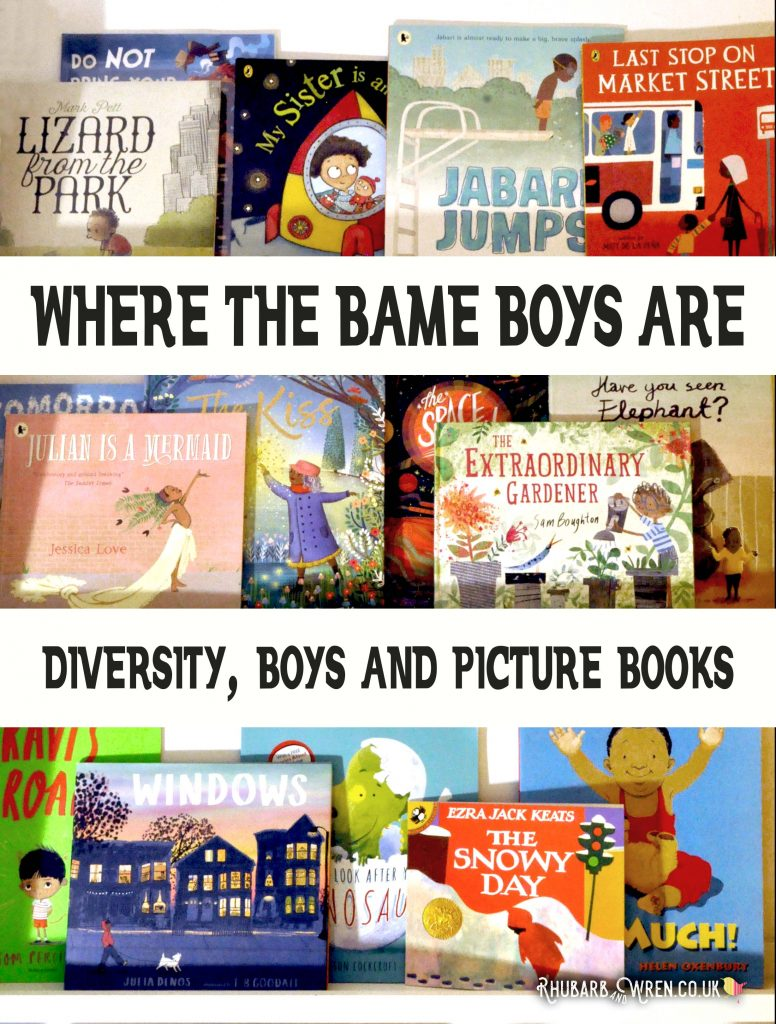 Where the BAME boys are: looking at diversity in children's picture books.
